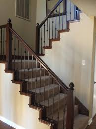 Banister Remodel Wrought Iron Balusters Remodel