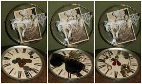 diy steampunk home decor clock face catch all steampunk and