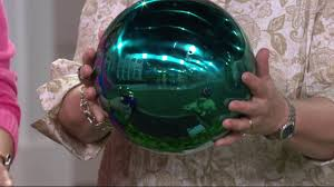 History Of Gazing Ball Plow U0026 Hearth Stainless Steel Gazing Ball With Stand On Qvc Youtube