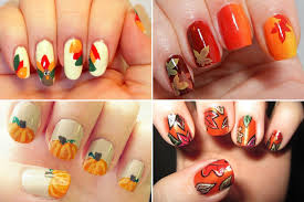 thanksgiving nail ideas for beginners