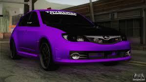 purple subaru subaru impreza wrx sti for gta san andreas