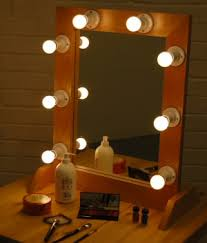 full length mirror with light bulbs entertainment product page