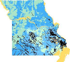 missouri map data missouri geologic map data