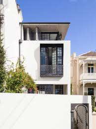Open Balcony Design Modern Row House Inspired By Its Neighbouring Victorian Terraced