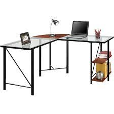 Staples Desks Computers Altra Furniture Aden Corner Glass Computer Desk Staples