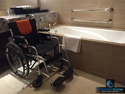Deluxe Wheelchair Accessible Ada Shower Review Jw Marriott Hotel Beijing Central Wheelchair Access