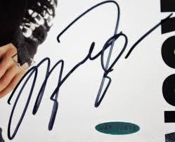 Michael Jackson Bad Album Lot Detail Michael Jackson U0026 Michael Jordan Ultra Rare Dual