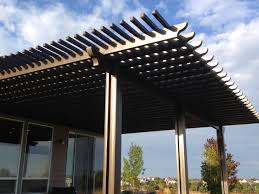 Building A Pergola On Concrete by Aluminum Pergolas Fort Collins U0026 Windsor Co Outrigger Landscaping