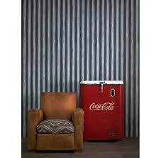 industrial palmer corrugated steel wallpaper steel kathy kuo home