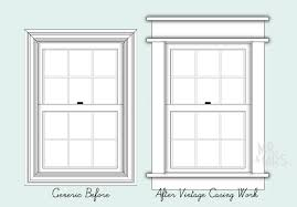 Colonial Style Windows Inspiration Exterior Window Casing Styles Home Design