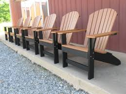 Adirondack Outdoor Furniture Patio Plastic Adirondack Chairs Home Depot For Simple Outdoor