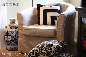 hodge podge custom ikea ektorp tullsta slipcover from comfort works