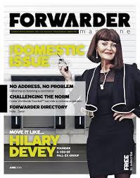 forwarder magazine june 2016 u0027domestic u0027 by freight media ltd issuu