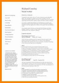 social work resume example social work resume sample writing