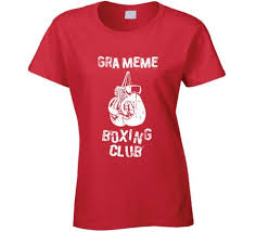 Meme French Grandmother - buy gra meme french boxing club grandmother t shirt in cheap price