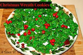christmas wreath cookies archives 4 sons u0027r u0027 us