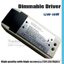high quality led lights led light dimmable driver 12w to 18w downlight led dimming
