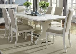 harbor view ii extendable trestle dining table from liberty 631 680531