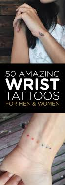 50 amazing wrist tattoos for tattooblend