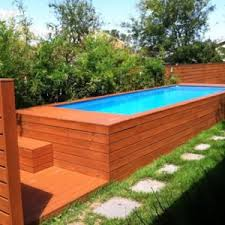 Small Backyard Above Ground Pool Ideas Outdoors Enchanting Above Ground Pool Ideas Images Design