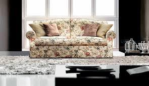 canapé fleuri style anglais canapé classique de style cottage en tissu 2 places cava