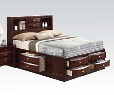 Espresso Bedroom Furniture by Acme Transitional Wooden Bedroom Furniture Sets Ebay