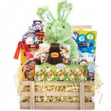 Easter Gift Baskets Easter Gift Baskets Crate Full Of Easter Goodness Marich Easter