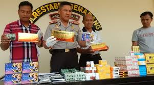 penjual obat kuat ilegal diringkus polisi