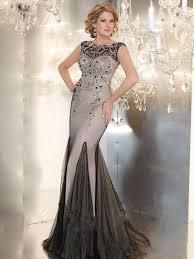 designer long evening gowns crystals beaded evening dresses