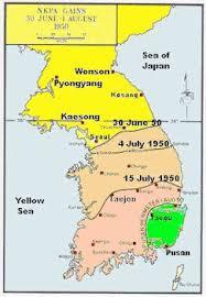 pusan on map map showing nkpa maximum gains