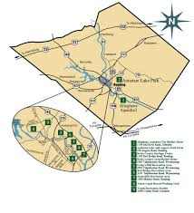 Reading Pennsylvania Map by Berkscountyparks