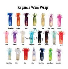 gift wrapping wine bottles 6 pcs 27 organza wine bottle gift wrapping favor party bag w