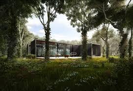 3d visualization 3d render u2013 silent house architectural