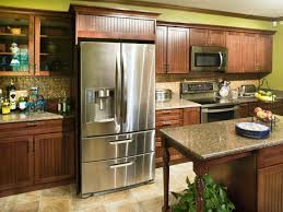 Kitchen Cabinets Refrigerator Surround by Accessories 20 Handsome Pictures Diy Built In Refrigerator