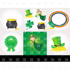 17 march st patrick u0027s day poster vector clipart image 55512
