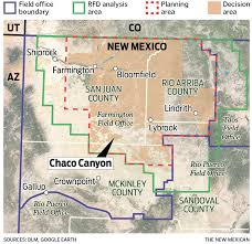 Forrest Fenn Map Future Of Chaco In Question As Oil And Gas Close In Business