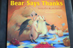 books for thanksgiving kristas random thoughts books for little people the bear