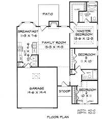 Small Ranch Plans Mason House Plans Home Builders Floor Blueprints Small Elegant