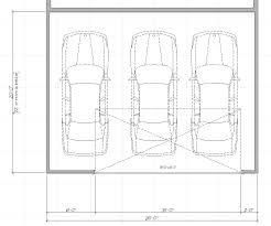 garage dimensions best 3 car garage dimensions with carport ideas m 9920