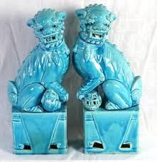 blue foo dogs the estate of edgardo antique helper