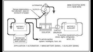 battery isolator 101 youtube