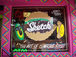 sketch burger vegan friendly burger shack in fishtown offers