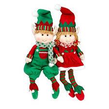 christmas elves plush christmas stuffed toys 12 boy and girl