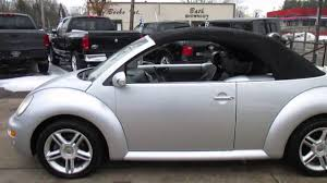 convertible volkswagen beetle used 2005 volkswagen new beetle convertible gls youtube