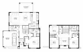 single floor 4 bedroom house plans one storey house floor plan inspirational double storey 4 bedroom