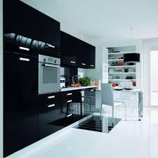 meuble cuisine noir laqué chambre grise et blanche 10 meuble de cuisine noir laque