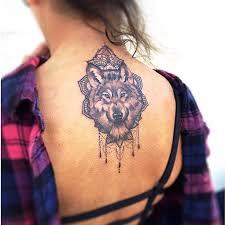 52 mandala wolf tattoos ideas