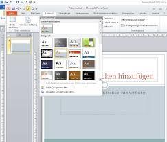 powerpoint design zuweisen computerschule brühl powerpoint grundlagen pdf