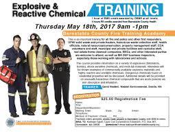 explosive u0026 reactive chemical training cape cod cooperative