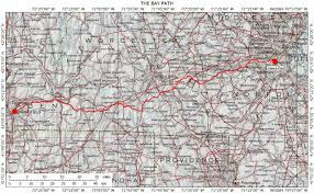 West Virginia Road Map by Historic Routes In The Northeastern U S